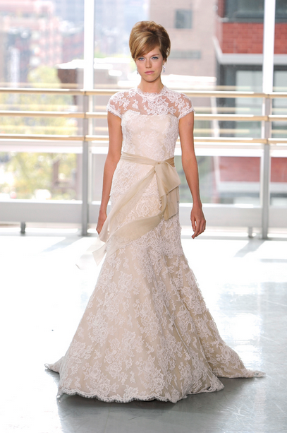 Top 5 Wedding Dress Trends for Spring 2013