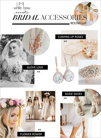 Top Bridal Accessories Round Up
